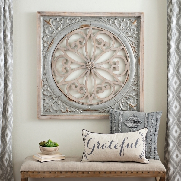 Galvaniz Medallion Wall Decor Amazing Wall Art Decor – Rfequilibrium Pertaining To Medallion Wall Art (View 11 of 25)