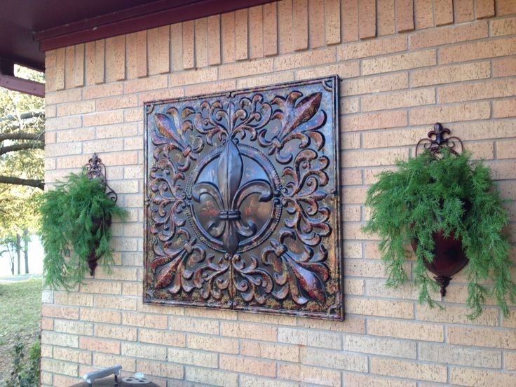 Garden Ridge Metal Wall Decor | Eva Furniture Within Metal Outdoor Wall Art (Image 5 of 25)