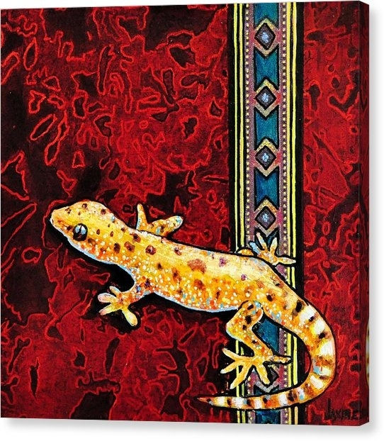 Gecko Canvas Prints (Page #13 Of 34) | Fine Art America Regarding Gecko Canvas Wall Art (View 11 of 20)