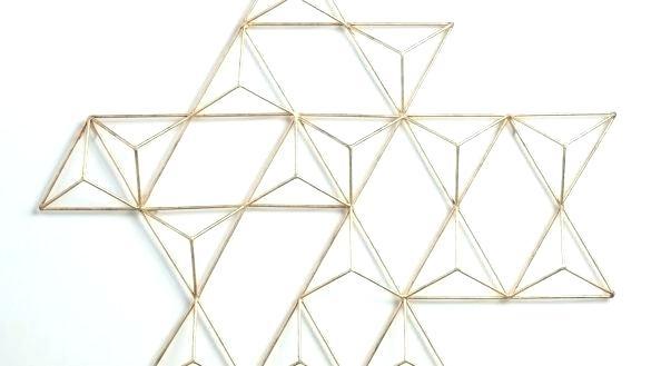 Geometric Metal Wall Art Geometric Metal Wall Art Wall Arts Throughout Geometric Metal Wall Art (View 15 of 25)