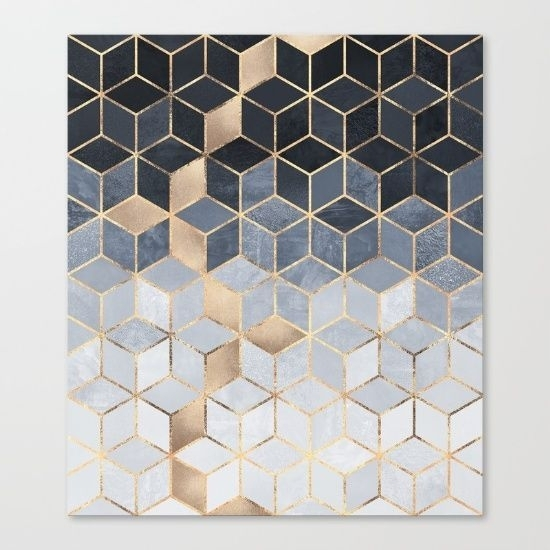 Geometric Wall Art Removable Sticker Fabric Self Adhesive Complete Within Geometric Wall Art (View 7 of 20)