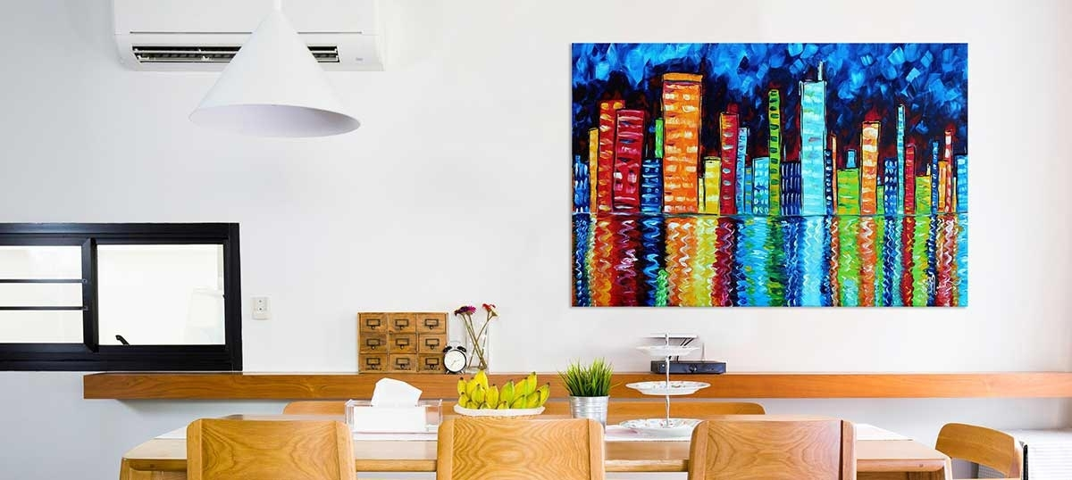 Giant Colorful Accents Canvas Art Prints | Icanvas Regarding Giant Wall Art (Image 12 of 25)