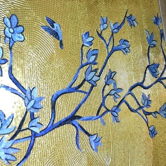 Glass Mosaic Art Mosaic Tile Wall Art Mosaic Wall Art Glass Mosaic Inside Mosaic Wall Art (Image 5 of 10)