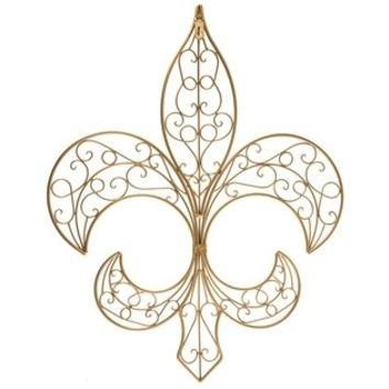 Gold Fleur De Lis Wall Decor | Shop Hobby From Hobby Lobby In Fleur De Lis Wall Art (Image 21 of 25)