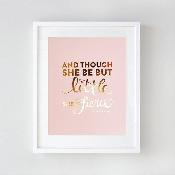 Featured Image of Gold Foil Wall Art