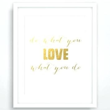 Gold Foil Wall Art Gold Print Instant Download Gold Foil Wall Art For Gold Foil Wall Art (Image 12 of 25)
