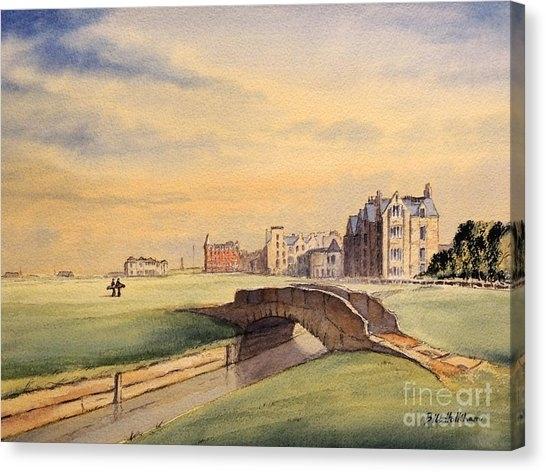 Golf Canvas Prints | Fine Art America Inside Golf Canvas Wall Art (View 14 of 25)