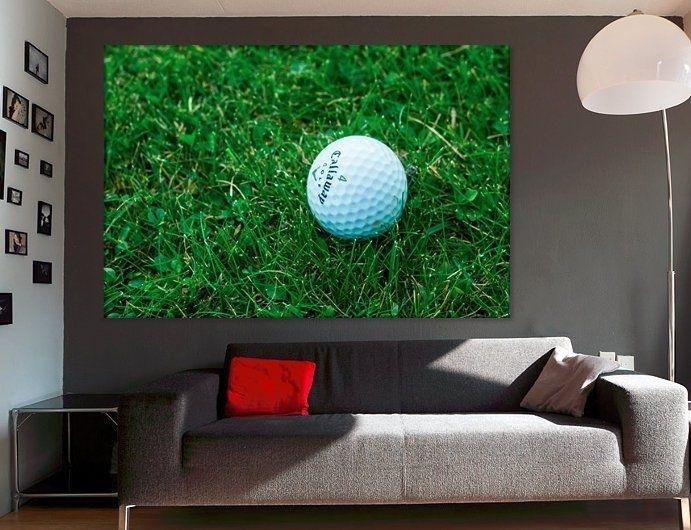 Golf Wall Decor Golf Canvas Art Golf Player Gift Golf Club Decor Within Golf Canvas Wall Art (View 24 of 25)