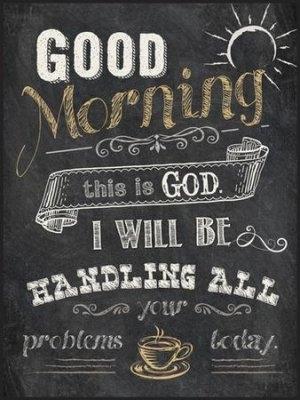 Good Morning, This Is God, Chalkboard Wall Art – Christianbook Inside Chalkboard Wall Art (Image 19 of 25)
