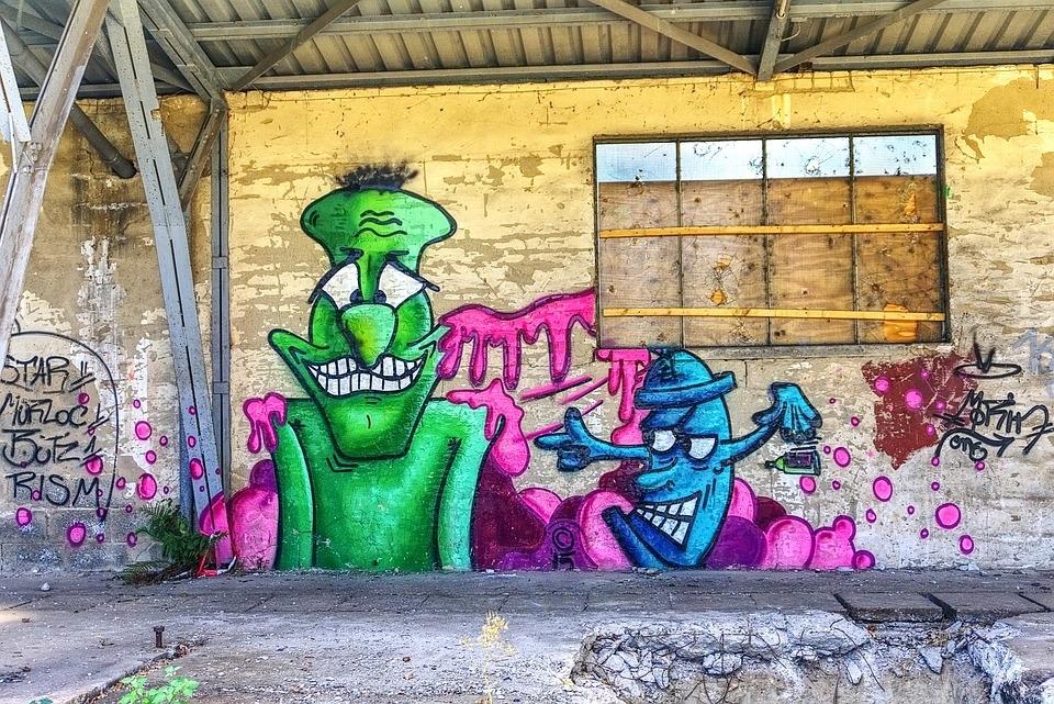 Graffiti Wall Art · Free Photo On Pixabay Throughout Graffiti Wall Art (View 7 of 25)