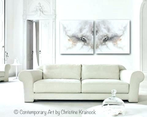 Gray Canvas Wall Art Trees Black Grey Landscape Oil Painting Wall Regarding Gray Canvas Wall Art (View 22 of 25)