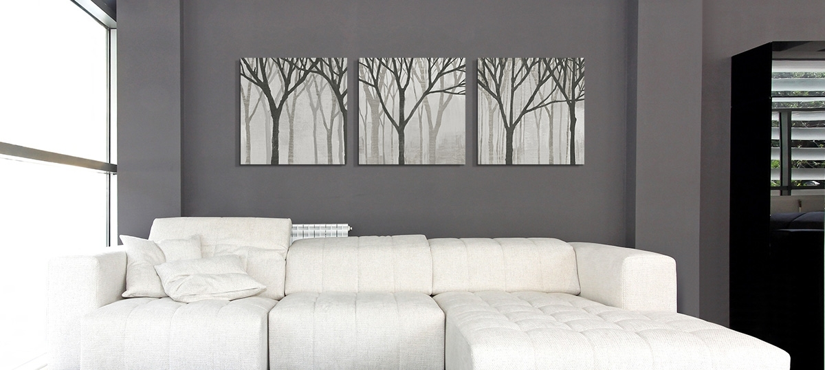 Gray Color Art Prints With Regard To Gray Canvas Wall Art (View 17 of 25)