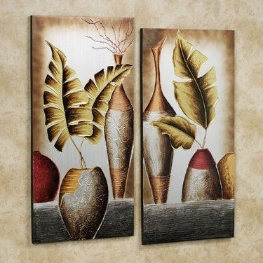 Grecian Pottery Canvas Wall Art Set | Pinterest | Wall Art Sets Pertaining To Canvas Wall Art Sets (View 9 of 10)