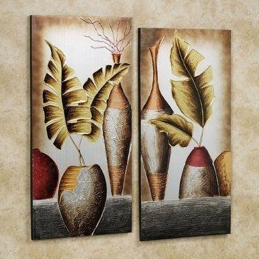 Grecian Pottery Canvas Wall Art Set | Pinterest | Wall Art Sets Pertaining To Canvas Wall Art Sets (Image 5 of 10)
