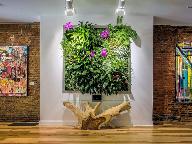 Green / Living Roofs Walls « Parker Plants For Living Wall Art (Image 9 of 25)