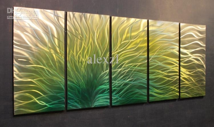Green Wall Art Custom Green Wall Art Roselawnlutheran Inspiration With Green Wall Art (View 17 of 25)