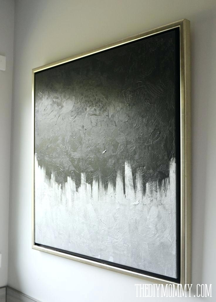 Grey And White Wall Art Gray And White Canvas Art Best Amazing Art With Regard To Grey And White Wall Art (View 15 of 25)