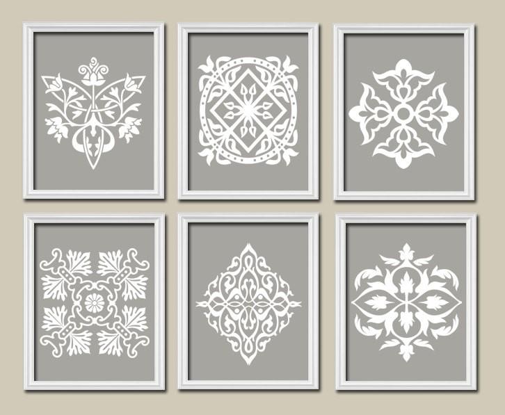 Grey And White Wall Art : Interior – Www Regarding Grey And White Wall Art (Image 15 of 25)