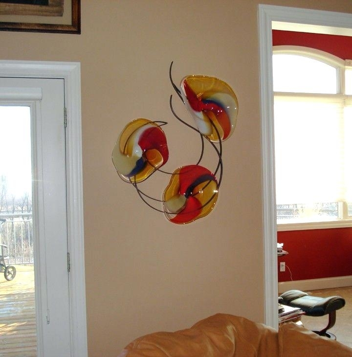 Hand Blown Glass Wall Decor (View 12 of 25)