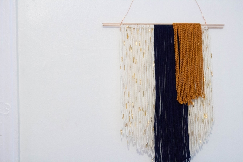 Hanging Yarn Banner – A Week From Thursday With Yarn Wall Art (Image 17 of 25)