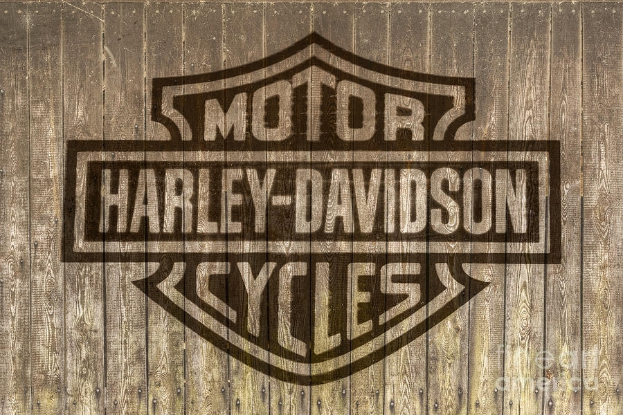 Featured Photo of Harley Davidson Wall Art