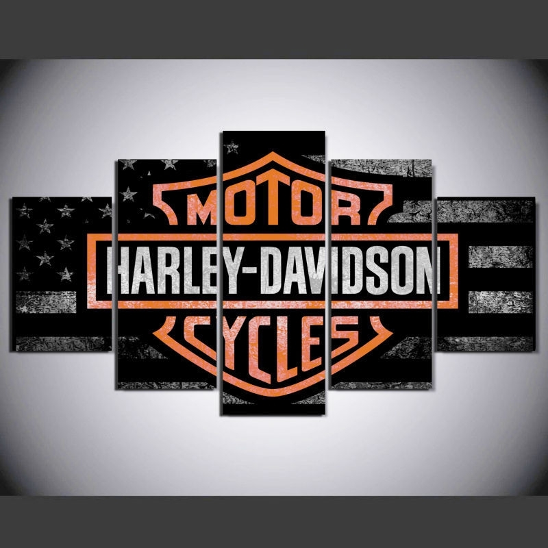 Harley Davidson Wall Art: 33 Listings In Harley Davidson Wall Art (View 11 of 25)