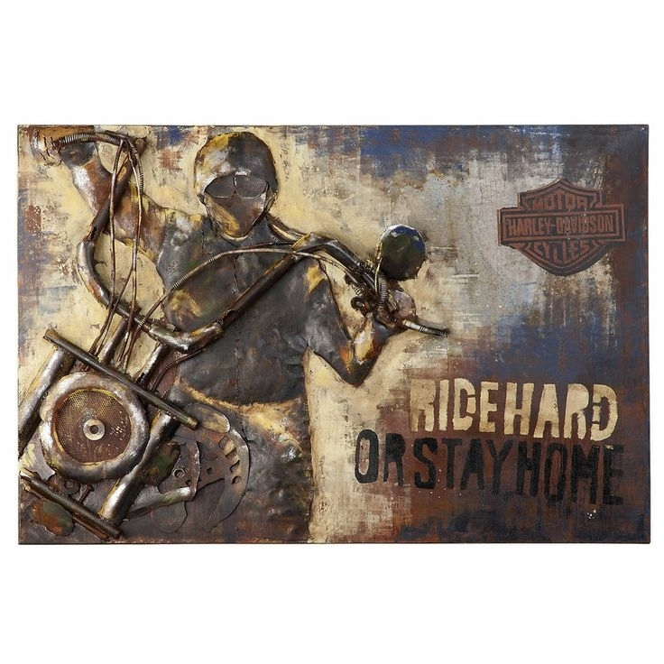 Harley Davidson Wall Art Great Harley Davidson Wall Art S Wall Art Intended For Harley Davidson Wall Art (View 17 of 25)