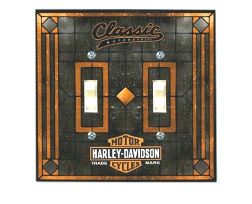 Harley Davidson Wall Mirrors Wall Mirrors Large Framed Wall Mirror With Harley Davidson Wall Art (Photo 25 of 25)