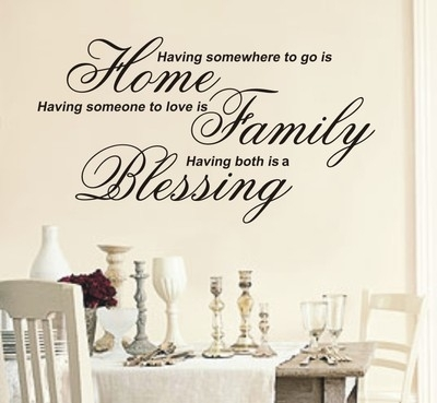 Having Somewhere To Go Is Home Wall Art Sticker Quote – 4 Sizes – Wa19 With Regard To Home Wall Art (View 2 of 25)