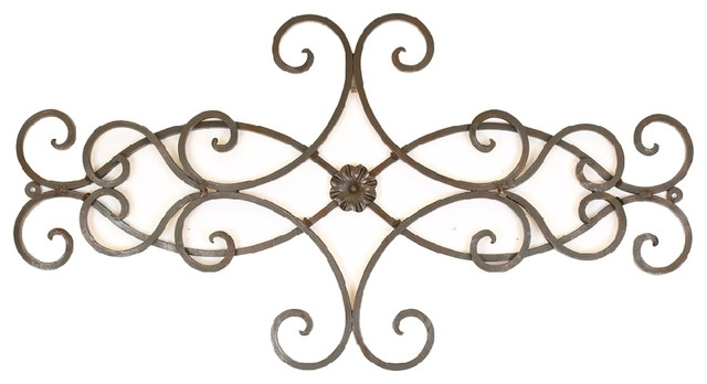 Featured Image of Metal Scroll Wall Art
