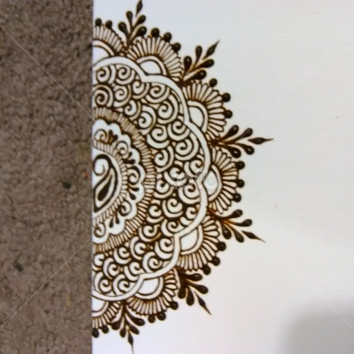 Henna Art Canvas Prints | All Drawing | Drawing | Pixoto Pertaining To Henna Wall Art (Image 13 of 25)