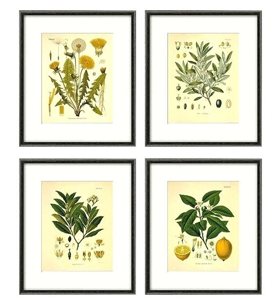 Herb Wall Art Pleasurable Design Ideas Herb Wall Art Kitchen Herbs With Herb Wall Art (Image 10 of 20)