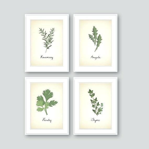 Herb Wall Art – Webplay Throughout Herb Wall Art (Image 8 of 20)