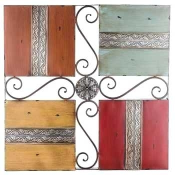 Hobby Lobby Wall Art Four Square Metal Wall Decor – Oozn (View 7 of 25)