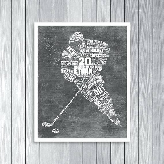 Hockey Wall Art Hockey Metal Wall Art – Footballmasters (Image 5 of 10)