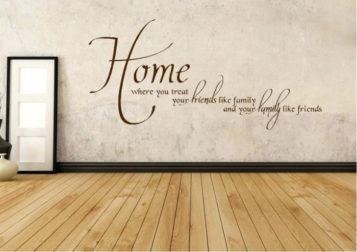 Home Wall Art Care Quote Our Residents Sticker Modern Transfer Decal Inside Home Wall Art (View 21 of 25)