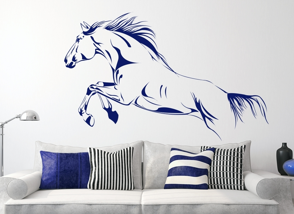 Horse Wall Art Fabulous Wall Art Horses – Wall Decoration Ideas With Regard To Horses Wall Art (View 17 of 20)