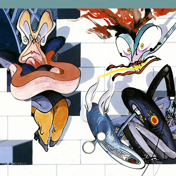 How Gerald Scarfe And Pink Floyd Built 'the Wall' – Illustration Inside Pink Floyd The Wall Art (Image 6 of 20)