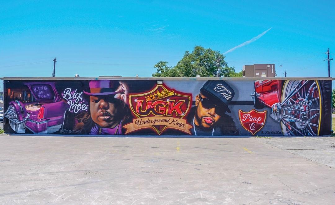 How Street Art Took Over Houston | Houstonia Throughout Houston Wall Art (Photo 11 of 25)