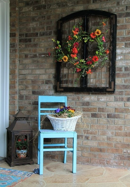 How To Beautify Your House – Outdoor Wall Décor Ideas | Interior Within Outdoor Wall Art Decors (Image 6 of 20)