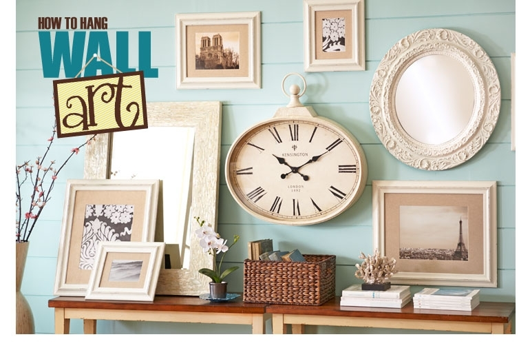 How To Hang Wall Art: Tips To Arrange Wall Decor Pier 1 Imports Regarding Pier 1 Wall Art (Image 3 of 25)