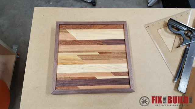 How To Make Wooden Wall Art | Fixthisbuildthat Throughout Diy Wood Wall Art (Image 16 of 25)