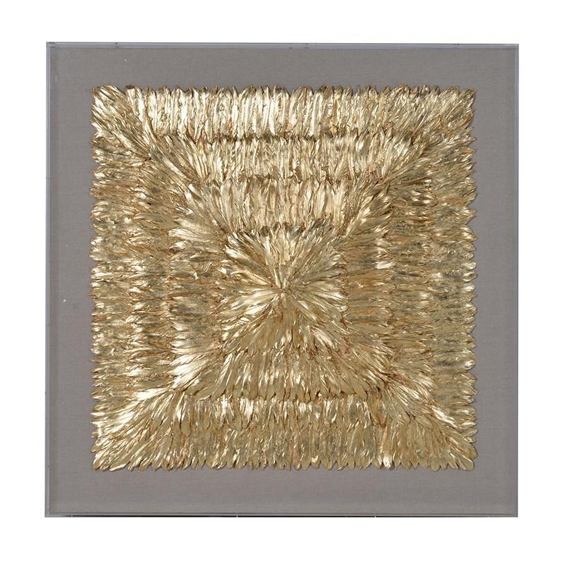 Huge Framed Gold Perfect Gold Wall Art – Wall Decoration Ideas Regarding Gold Wall Art (View 9 of 10)