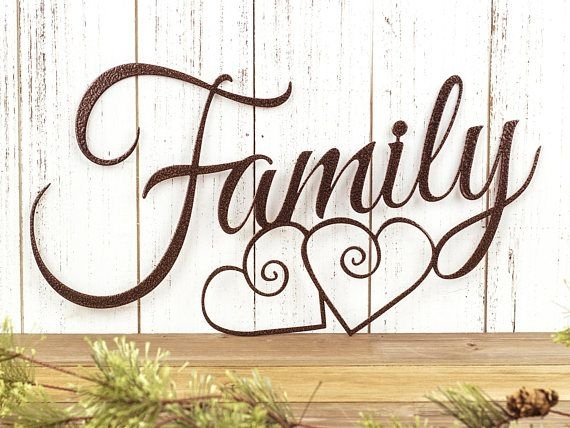 I Have To Get This Family Sign, Love!! Family Metal Sign | Metal Inside Family Metal Wall Art (View 9 of 10)