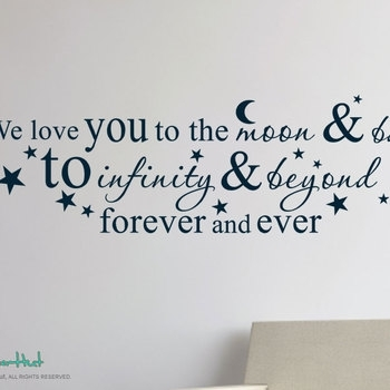 I Love You To The Moon And Back Wall Art – Fallow Throughout I Love You To The Moon And Back Wall Art (View 18 of 20)