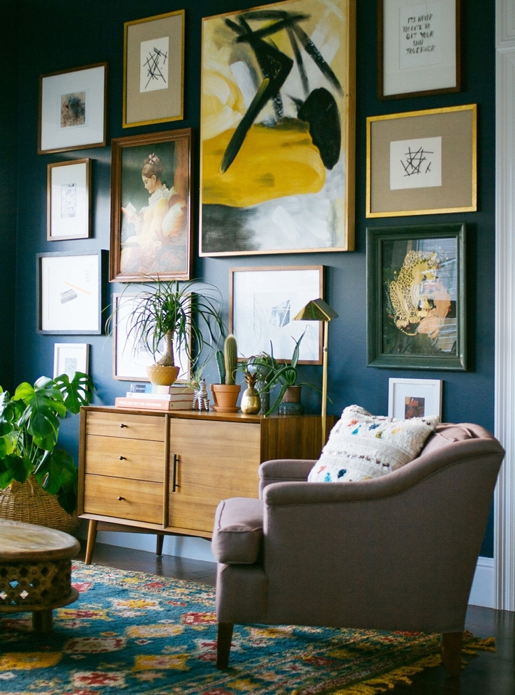 I Want That Wall! 5 Easy Steps To Hanging Art – Front + Main Pertaining To West Elm Wall Art (View 13 of 25)