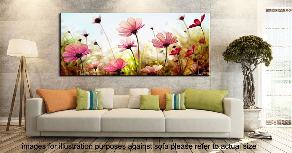 Imagem Relacionada | Триптихи | Pinterest Pertaining To Floral Canvas Wall Art (View 10 of 25)