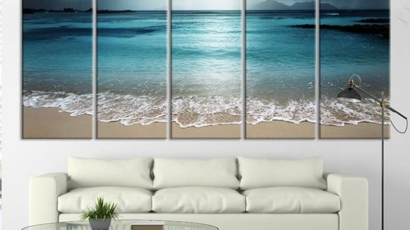 Impressive Wall Art Ideas Design Multi Large Beach Wall Art Classic Regarding Large Coastal Wall Art (Image 12 of 20)