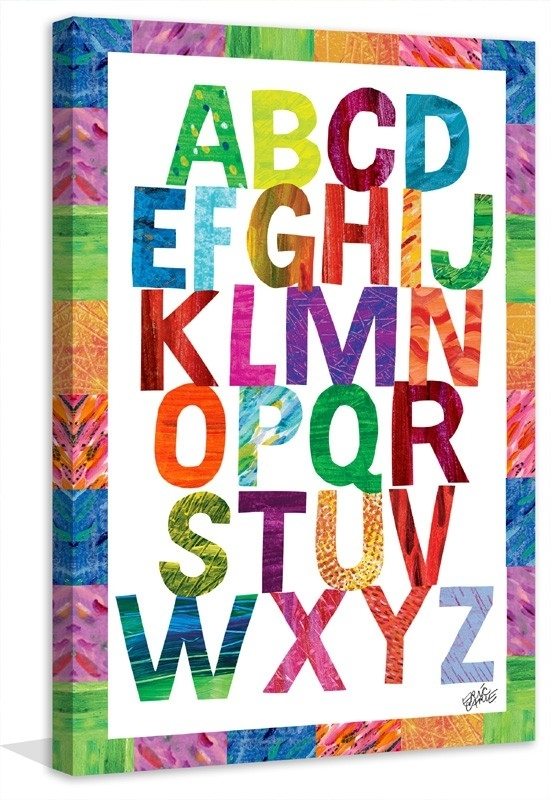 Incredible Alphabet Wall Art Designing Inspiration Diy Crafts 3D within Alphabet Wall Art