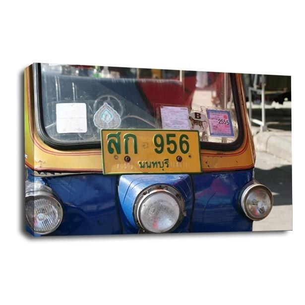 Indian Tup Tup Car Canvas Wall Art Picture Print Regarding Car Canvas Wall Art (View 16 of 25)